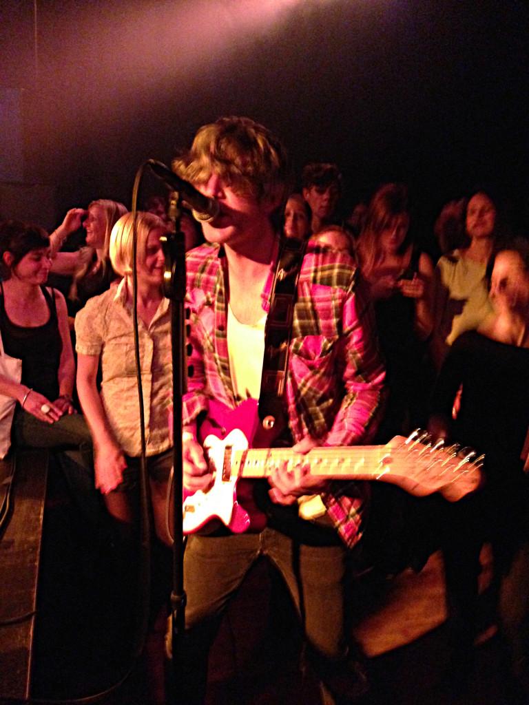 Auch in Basel wagte sich Keith ins Publikum