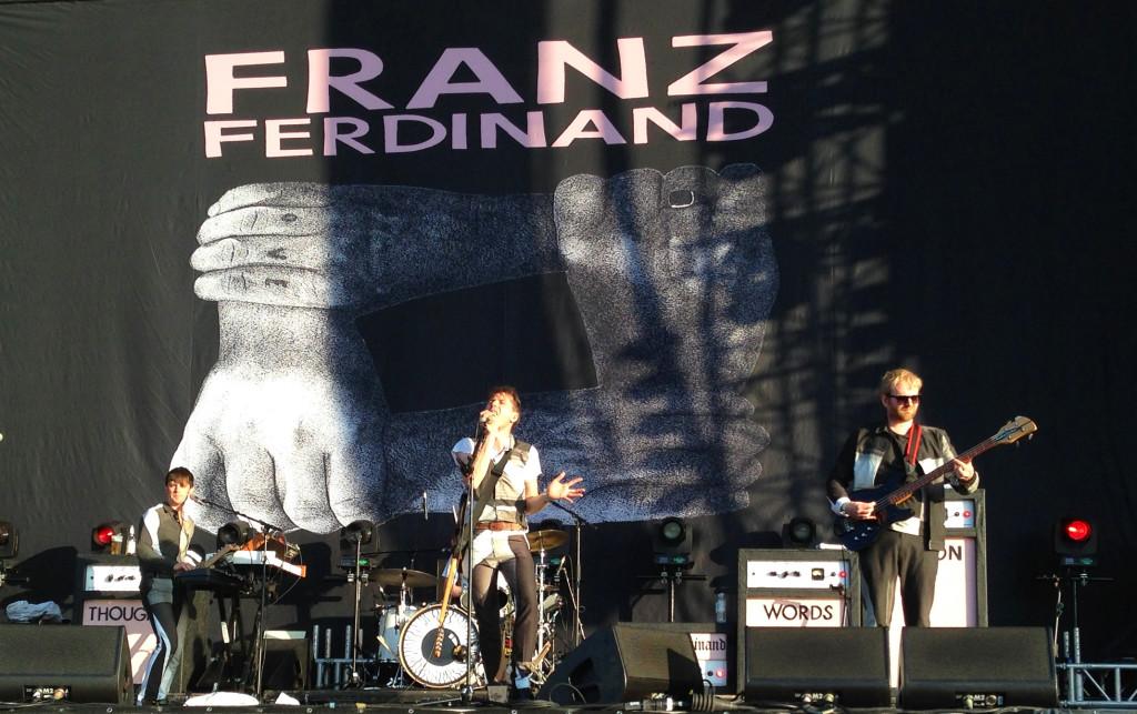 Franz Ferdinand am Southside Festival 2014