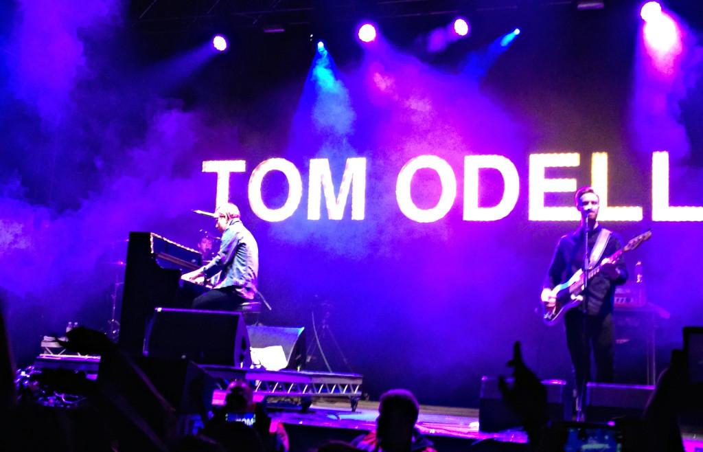 Tom Odell auf der Red Stage am Southside Festival 2014