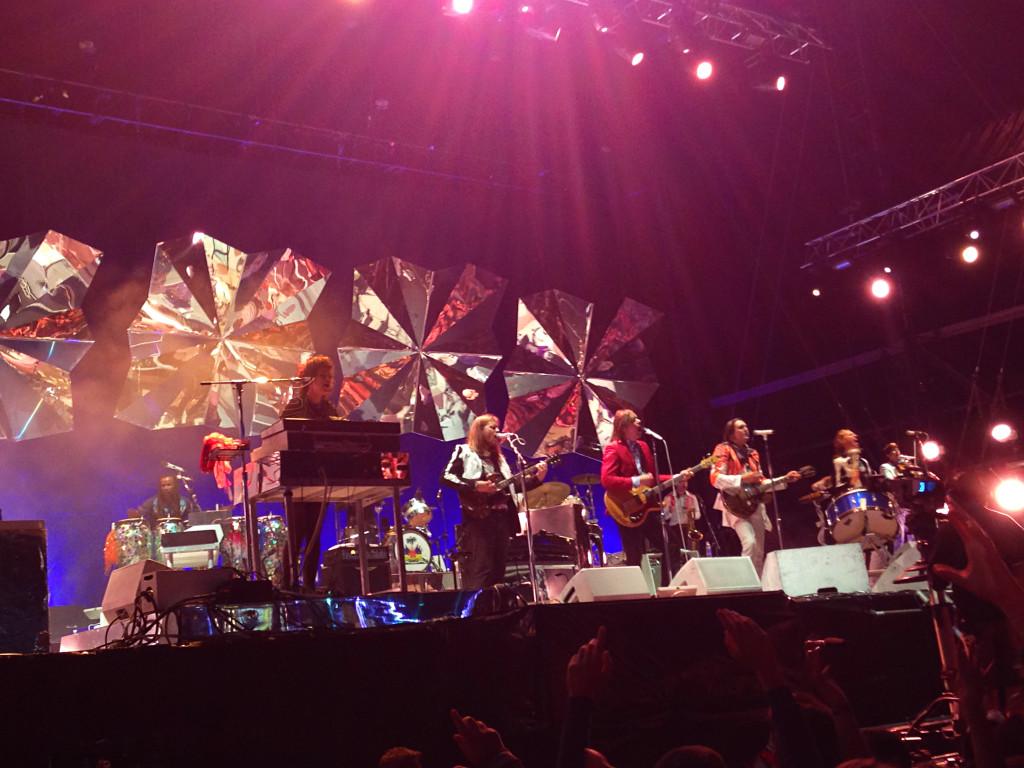 Arcade Fire bei ihrem Konzert am diesjährigen Southside Festival