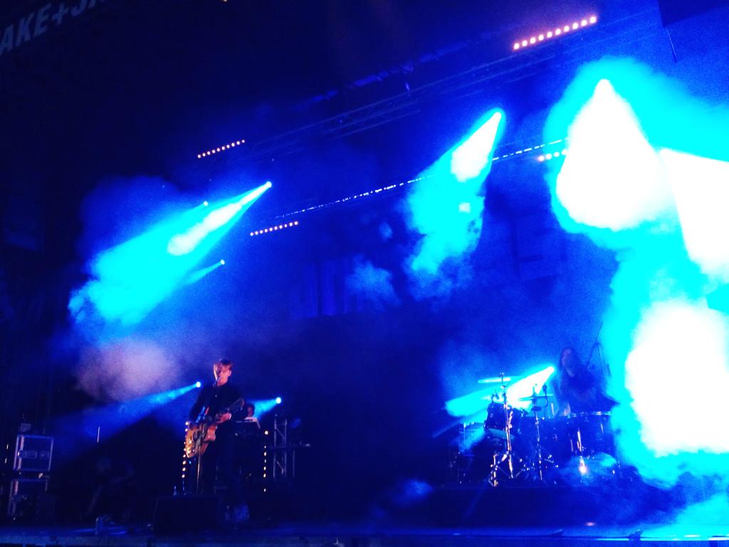 Johnossi am Wake + Jam Festival 2014 in Murten