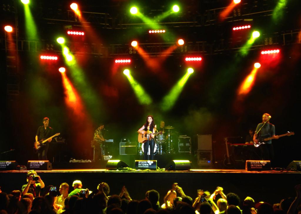 Amy Macdonald am Stars in Town 2014 in Schaffhausen