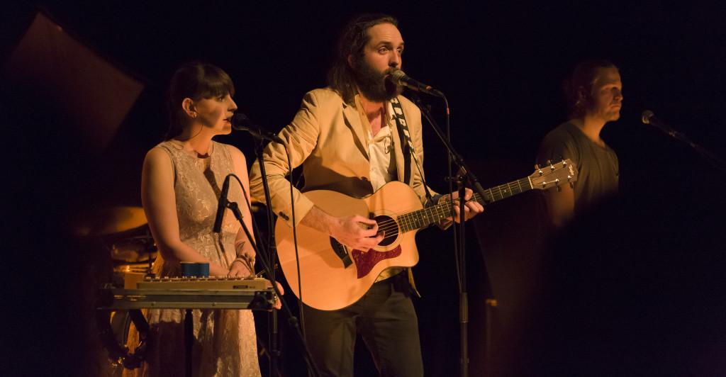 Anna Gosteli und Elia Rediger von The bianca Story im Moltin in Winterthur. Bild © Christian Bechtiger