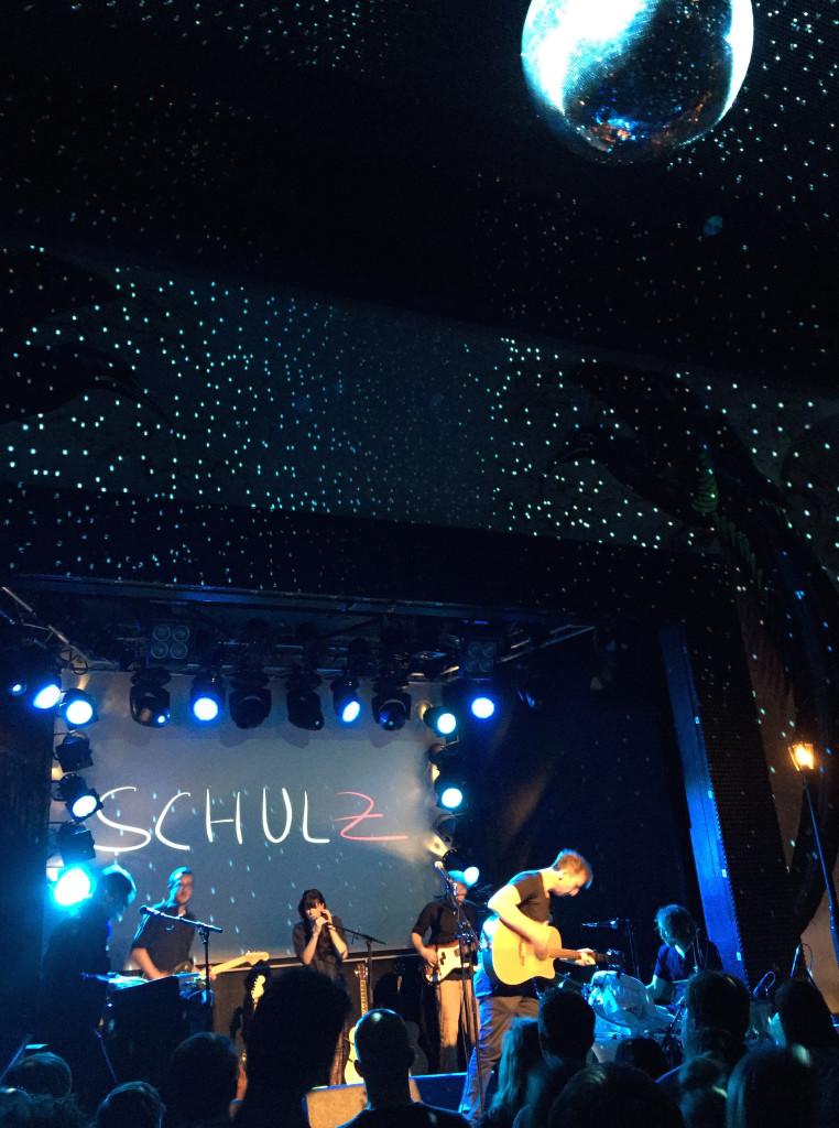 Olli Schulz und Band im Plaza Klub in Zürich