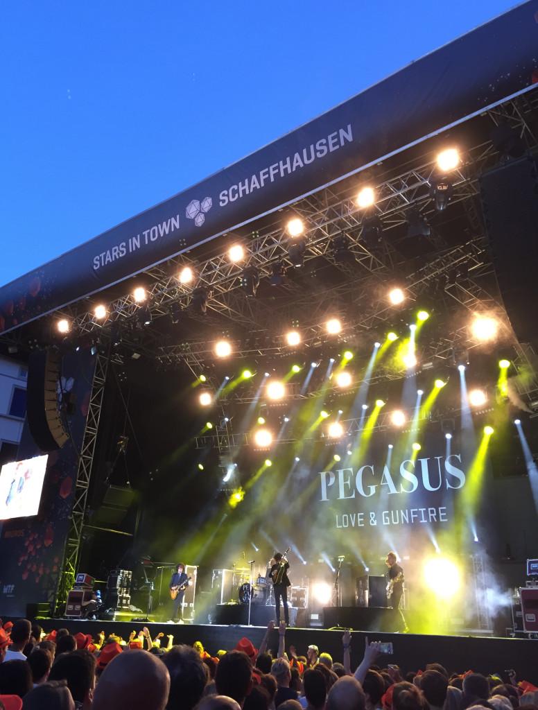 Pegasus rocken die Blaue Stunde in Schaffhausen