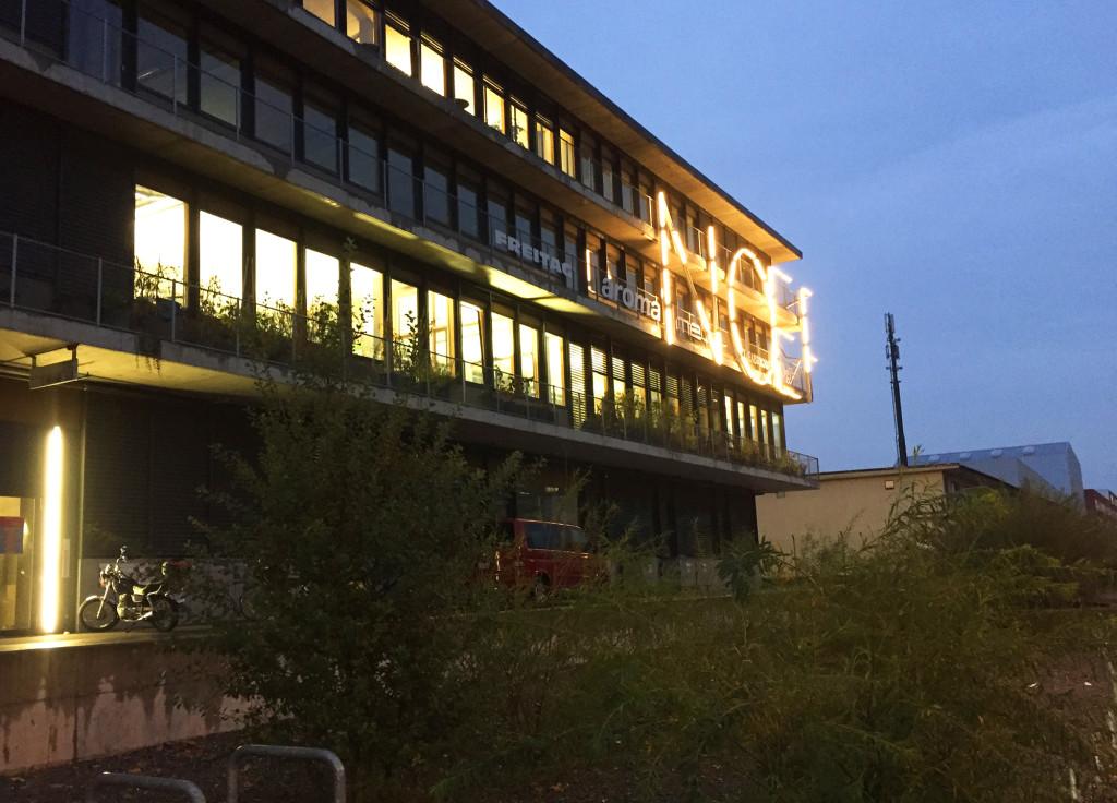 Der Nœrd-Komplex fungierte an diesem Abend als Konzertlocation