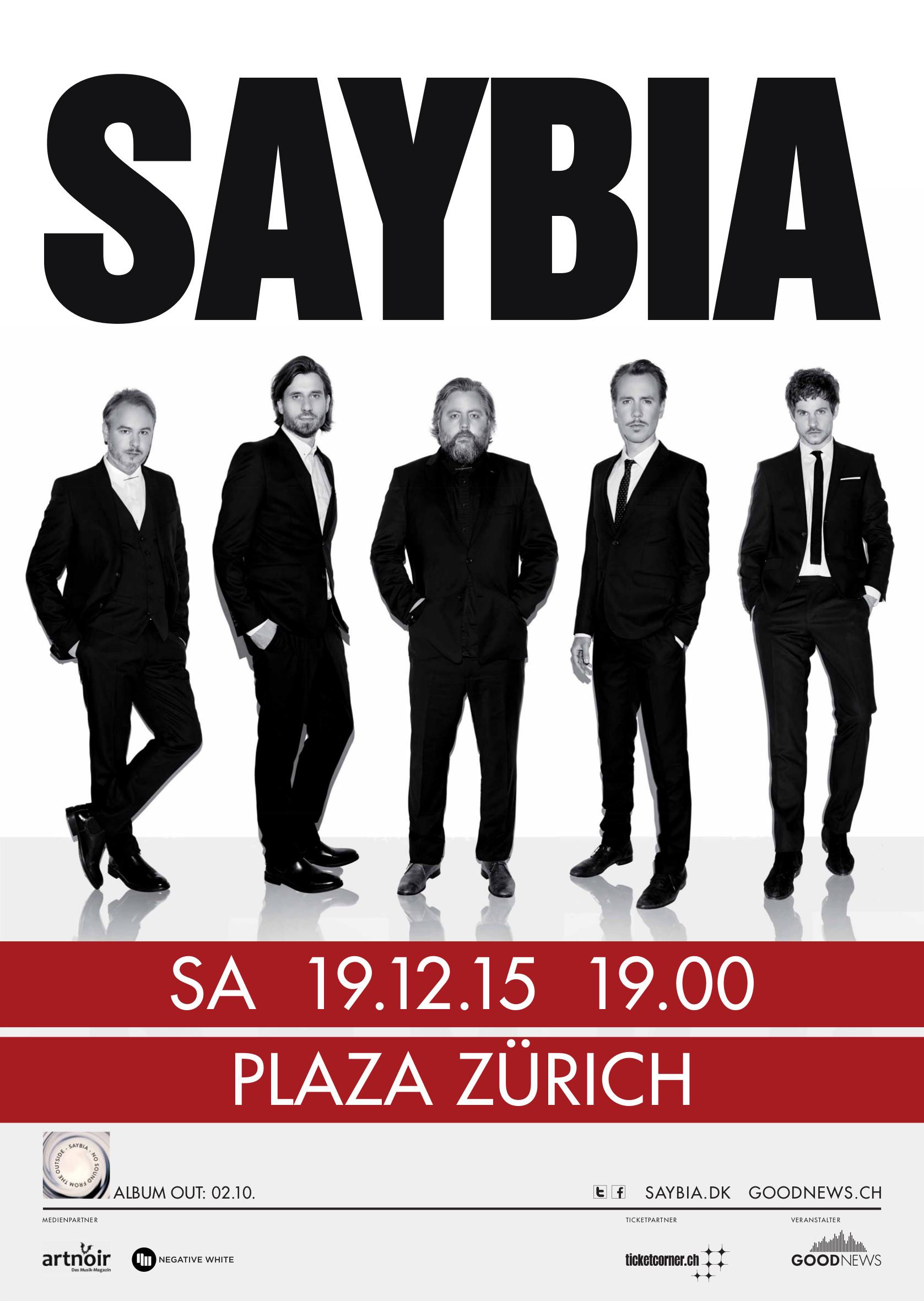 Saybia, Plaza Zürich