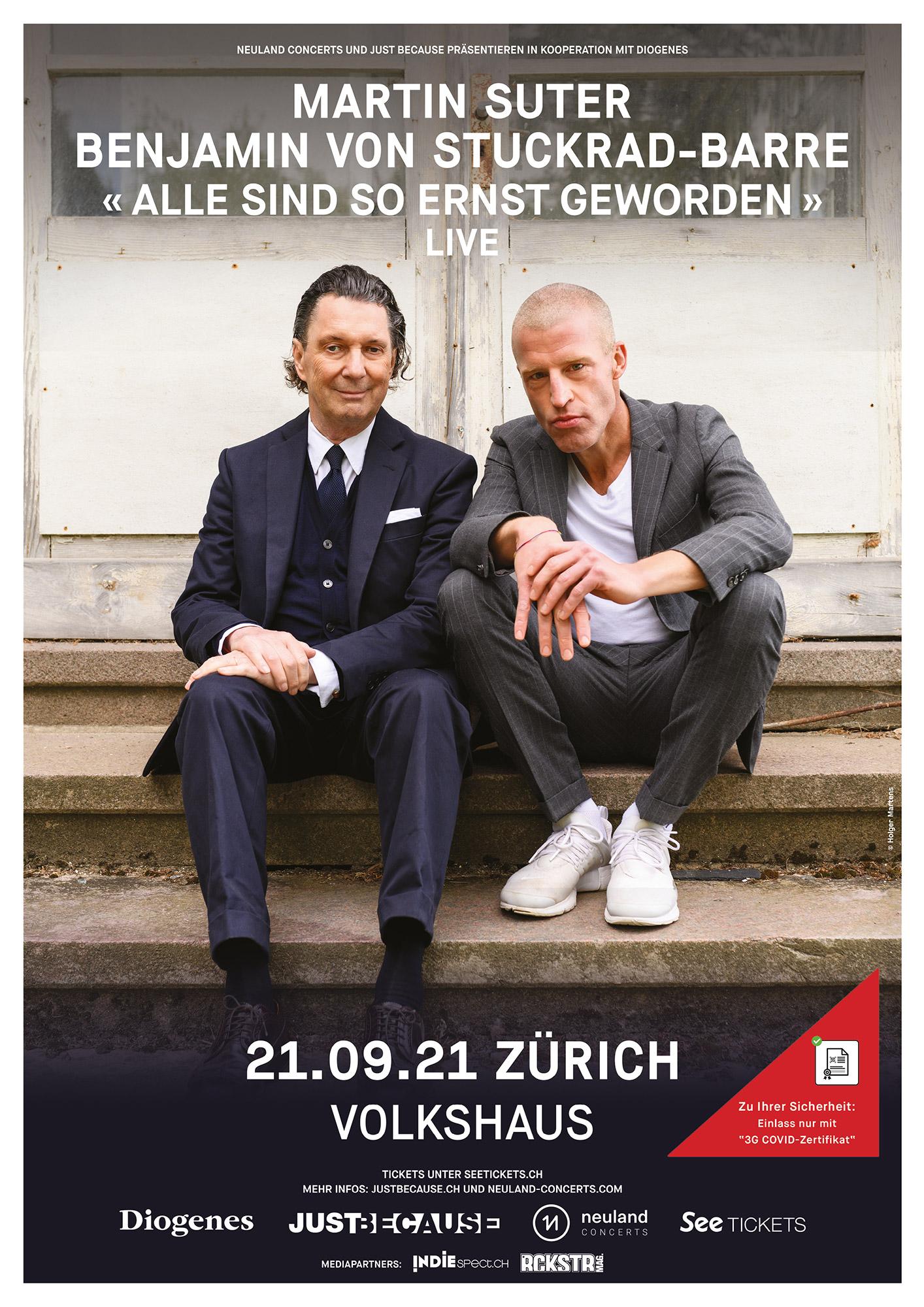Martin Suter & Benjamin von Stuckrad-Barre